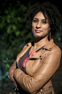 Portrait of Marielle Franco