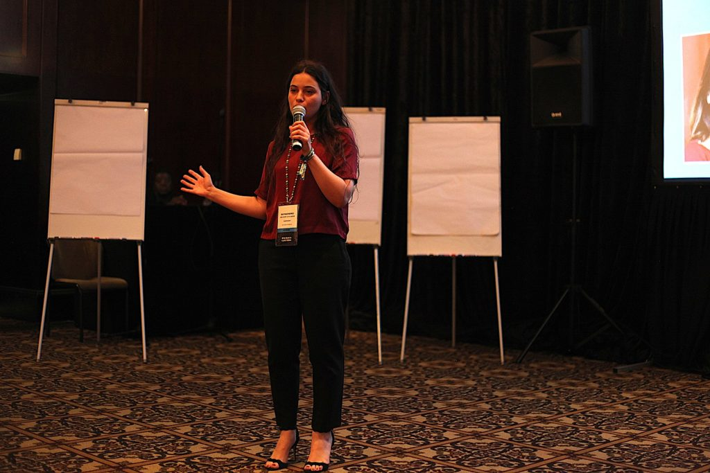 May Hachem at Wikimania 2018