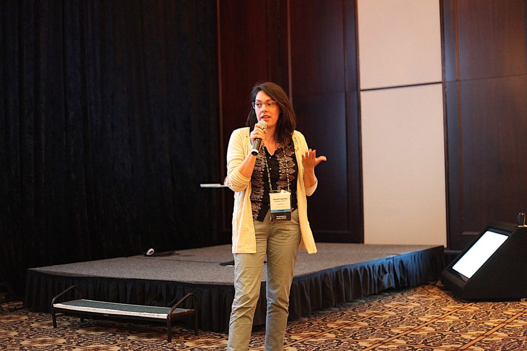 Mariana Fossatti at Wikimania 2018