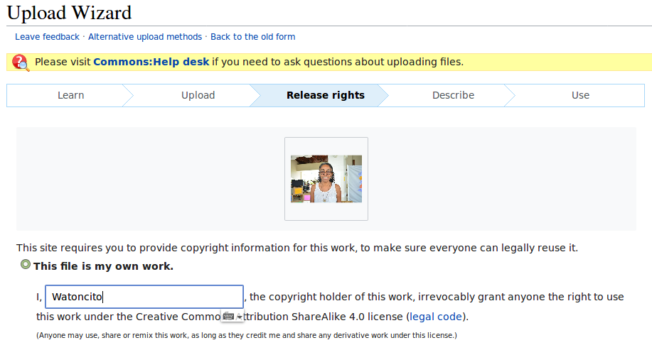 Whose Knowledge? | How to upload images to Wikimedia Commons