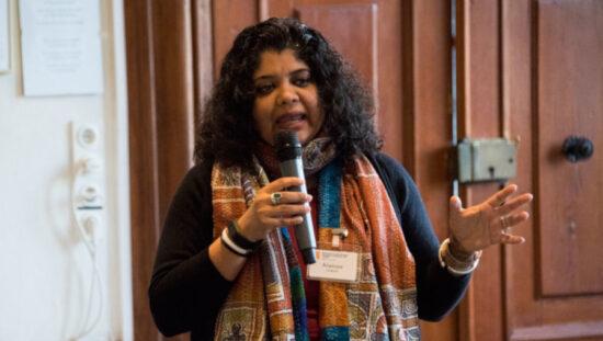 Anasuya Sengupta at Salzburg Global Seminar.