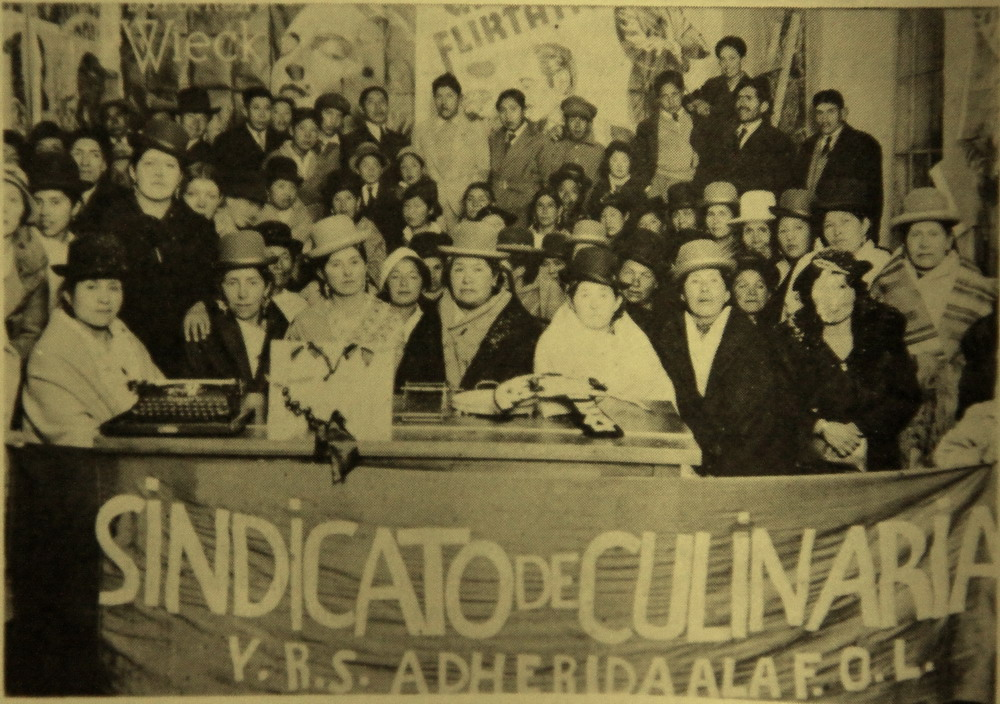 Culinarias Union of La Paz, Bolivia (1937)